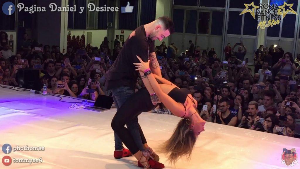 Daniel y Desiree bailando bachata sensualidad clases