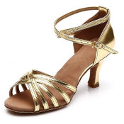 shoes tacon oro gold